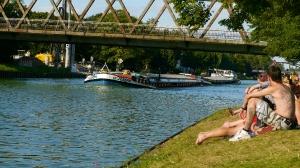 Sommer am Kanal