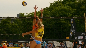 Beach Volleyball am Schloss