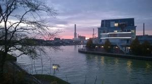 Sunset am Kanal